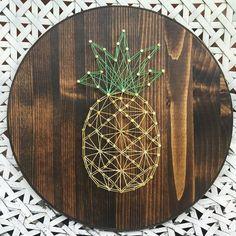 20 Fun DIY Thread and Nails String Art
