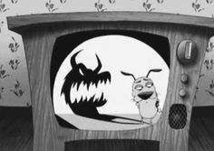 Courage the Cowardly Dog gif
