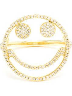 Shop now: Rosa De La Cruz Smiley Ring