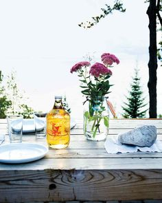 MARTHA STUART LIVING - On the Leelanau Peninsula -- a 30-mile spit of land jutting northeast into Lake Michigan -- the days feel longer, the fish tastes fresher, and the food lovers are still blessedly unpretentious.