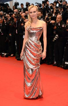 Diane Kruger in Vivienne Westwood at Cannes 2012