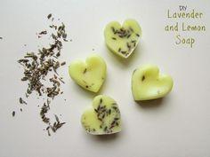 Ef Zin Creations: DIY Lavender and Lemon Homemade Soap