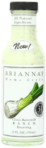 *** Amazing deals just a click away: Briannas Dressing, Buttermilk Ranch, 12 Ounce (Pack of 4) at Dinner Ingredients.