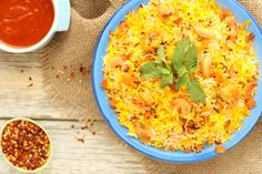 Emirati Infused Spicy Shrimp Biriyani. Another creation by our Emirati cuisine chef, this spicy shrimp is a flavor explosion, especially if you are brave enough to try with our in-house chili paste.