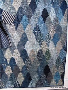 Scrap,quilt and stitch: L'indigo de Shizuko Kuroha