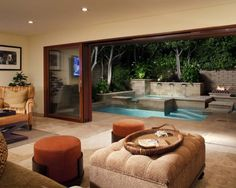 Inside, Outside Pool.