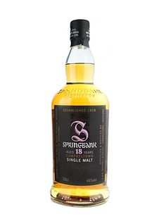 Whisky SPRINGBANK 18 ans 46% - Maison du Whisky