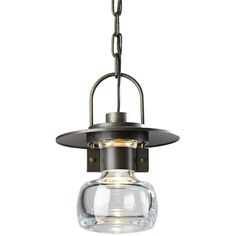 Hubbardton Forge Bronze Mason Outdoor Single Light Wide Outdoor Mini Pendant with Customizable Glass Shade Outdoor Pendant Lighting, Outdoor Hanging Lanterns, Outdoor Chandelier, Outdoor Sconces, Hanging Pendants, Ceiling Fixtures, Light Fixtures, Mini Pendant, Glass Shades