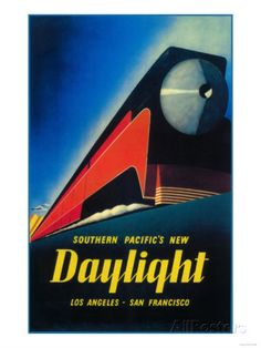 San Francisco, California - The Daylight Train Promotional Poster Posters sur AllPosters.fr