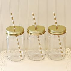 Plastic Mason Jars, 10 Plastic Mason Jars & Metal Lid with Straw Hole, Mason Jar Cups, Plastic Lemonade Jar, Kids Plastic Cup, Tumbler 17 Oz by RoadSideChick on Etsy https://www.etsy.com/listing/231904539/plastic-mason-jars-10-plastic-mason-jars