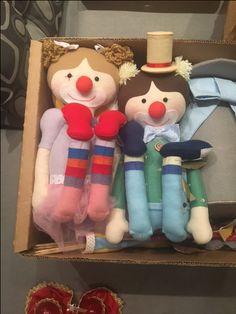 palhaços bonecos, amo