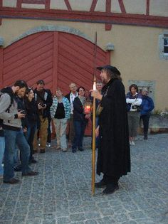 Night Watchman Tour in Rothenburg ob der Tauber, Germany's Romantic Road.