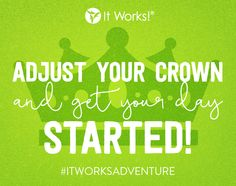 You are a WRAP STAR! You've got this. Adjust your crown and get your day started... with a #BOOM!