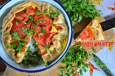 Tasty food for busy mums: Tomato, Feta Cheese & Egg Galette