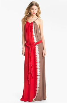 Im in Love!!!  Young, Fabulous & Broke 'Willow' Tie Dye Maxi Dress available at #Nordstrom