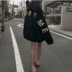 I just want to be skinny enough. UGW: 87 I don't want to be fat anymore. Cheer Skirts, Adidas Jacket, High Fashion, Street Wear, Street Style, Skinny, My Style, Sweatshirts, Cute