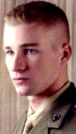 Marine LCpl. Stephen F. Johnson, 20, of Marietta, Georgia. Died October 8, 2006, serving during Operation Iraqi Freedom. Assigned to 2nd Battalion, 8th Marine Regiment, 2nd Marine Division, II Marine Expeditionary Force, Camp Lejeune, North Carolina. Died of injuries sustained when an improvised explosive device detonated near his position during combat operations in Saqlawiyah, Anbar Province, Iraq.