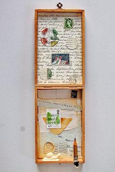 mano's welt: kunstschachteln 2015 / nr 1/2015 snail mail