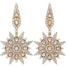 {Sage Diamond Small Star Earrings | Shawn Warren Jewerly}