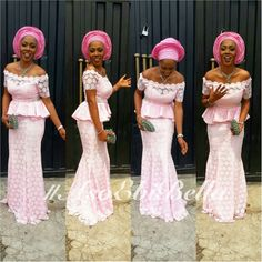 Awesome African Traditional Wedding Dress Step up your Aso-Ebi Style Game: Unleashing Sexy, Beautiful, & Flattering Aso Ebi Styles That Will Leave you Speechless African Dresses For Women, African Attire, African Wear, African Fashion Dresses, African Women, African Lace, Ghanaian Fashion, Nigerian Fashion, Aso Ebi Lace Styles