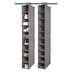 Hanging Clothes Organizer, Hanging Closet Storage, Shoe Storage Organiser, Closet Shoe Storage, Cubby Storage, Shoe Organizer, Hanging Shelves, File Folder Organization, Purse Organization