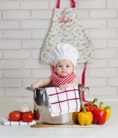 Baby chef! Baby cook! Baby photography!
