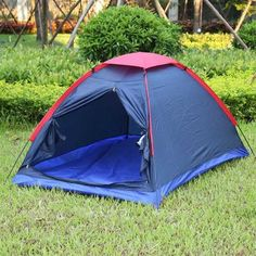 bd761248ccd Two Person Tent with Fiberglass Poles Outdoor Camping