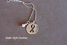 Breast Cancer Necklace
