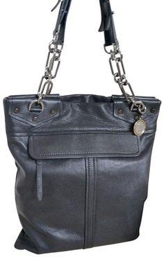 67cd42beabe6 Lanvin Black Leather Slim Chain Strap Tote - Tradesy Black Leather Tote