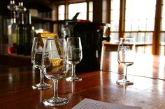 Tasting Room at Chamard Vineyards