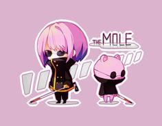 the mole-HTF! Happy Tree Friends, Three Friends, Watch Cartoons, Adult Cartoons, Cute Cartoon, Cartoon Art, Htf Anime, The Mole, Friend Anime