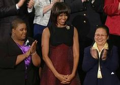 1st Lady Michelle Obama....  @ State Of The Union 2013....