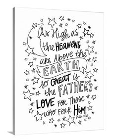 Look what I found on #zulily! 'So Great Is the Father's Love' Coloring Canvas #zulilyfinds
