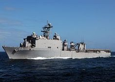 USS Carter Hall (LSD-50) is a Harpers Ferry-class dock landing ship. She is the second U.S. Navy ship to be named for Carter Hall, an estate near Winchester, Virginia, built in the 1790s. Commissioned: 30 September 1995. Status: still in active service.