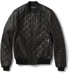 Gucci quilted leather Gucci Leather Jacket, Short Leather Jacket, Black  Bomber Jacket, Designer 8da418b30e48