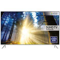 "Buy Samsung UE49KS7000 SUHD HDR 1,000 4K Ultra HD Quantum Dot Smart TV, 49"" with Freeview HD/Freesat HD, Playstation Now & Branch Feet Design, UHD Premium Online at johnlewis.com"