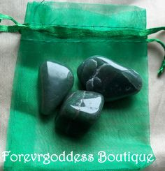 Here we have 4 Unique , Semi- precious stones.  They represent: Prosperity, good luck, Money ,creativity. Courage, Heals all, soothes heart ache, emotionally calming, Helps with mood disorders. Once charged and cleanse, they can be used to find spiritual path you wish to be guided on, and help s with luck, creativity,, prosperity magicks . each stone is carefully bagged in organza colored bag. Come with cleansing and charging instructions. Price 7.50 + Free shipping (usa)