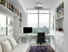 condo office home office scandinavian with area rug polyester curtains and drapes