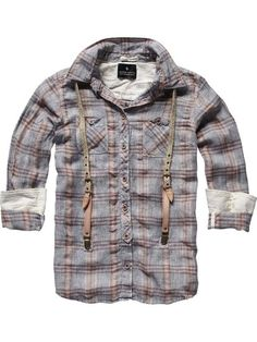 Scotch & Soda - Amsterdam Couture - Clothing, Fashion and Couture Outfits, Fashion Outfits, Casual Shirts, Men Shirts, Mens Clothing Styles, Shirt Style, Work Wear, What To Wear, Kids Fashion