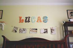 creative wall displays | get those photos off your hard drive | ClickinMoms