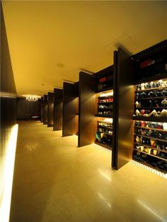 Luxury Lady's Closet at the World's Most Expensive Apartment $21.8 Million in Minami-Azabu, Tokyo, Japan