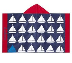 Nantucket Boat Beach Wrap #pbkids