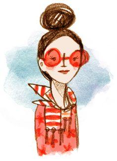 rose colored glasses - Abigail Halpin