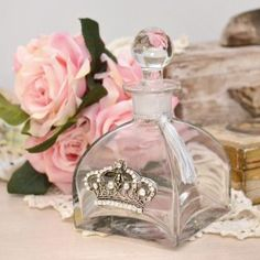 Lux Luscious Silver Crown Vanity Collection Perfume Diffuser