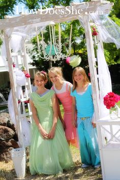 Princess Academy - a fun way for teen girls to raise money by hosting a Princess day for younger girls.