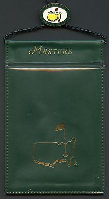 MASTERS TICKET BADGE LANYARD & HOLDER - PGA GOLF - AUGUSTA NATIONAL