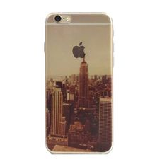 New York City Scenery Nature iPhone 6s 6 Plus Soft Clear Case