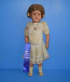 Lovely Schoenhut Wooden 'Miss Dolly' Doll