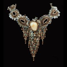 Intuitive Jewelry - Wendy Seaward Intuitive Beadweaving  #beadwork