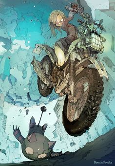 The Art of Posuka Demizu: Posuka Demizu Kunst Inspo, Art Inspo, Art And Illustration, Comic Kunst, Comic Art, Fantasy Kunst, Fantasy Art, Manga Art, Anime Art